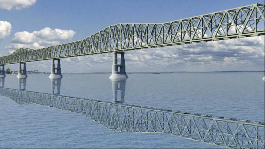 Projeto da futura ponte