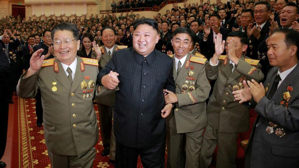 Kim Jong-Un nas comemorações