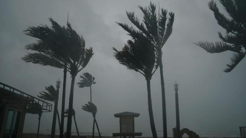 Irma chega à Florida
