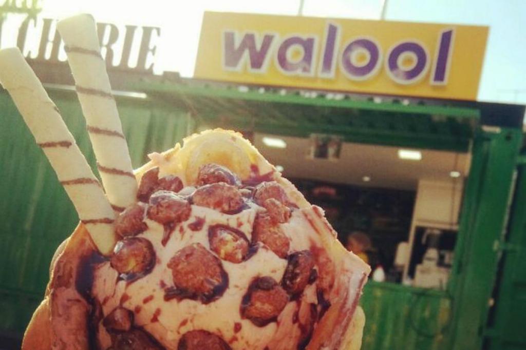 Gelado da marca Walool