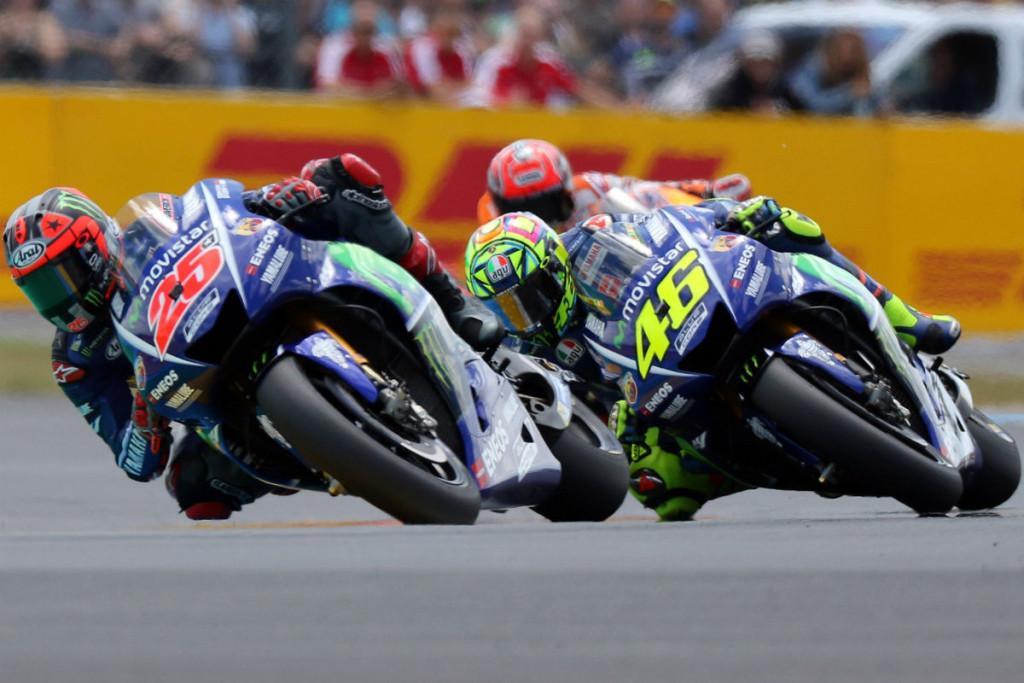 Maverick Viñales e Valentino Rossi - GP França