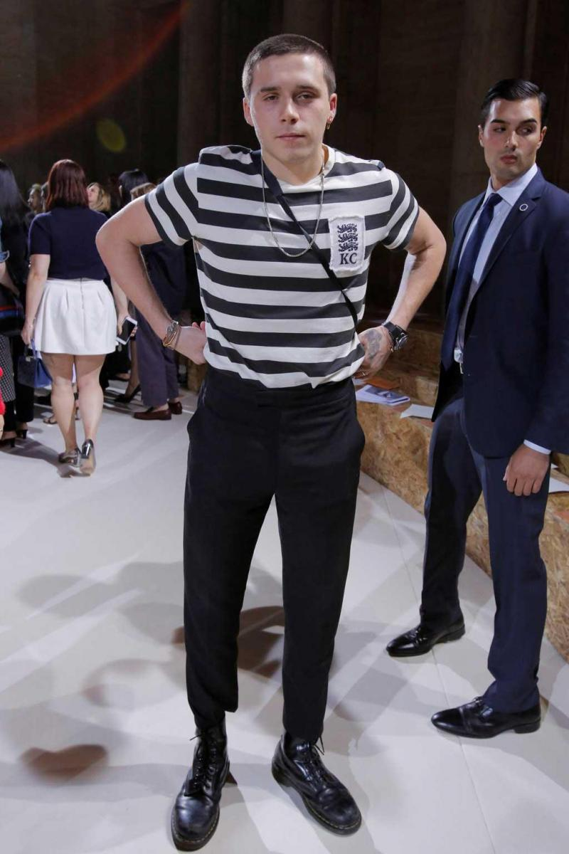 3c4839df31e 2 20 - Victoria Beckham coleção primavera verão 2018 na Semana da Moda de  Nova Iorque Foto  Reuters