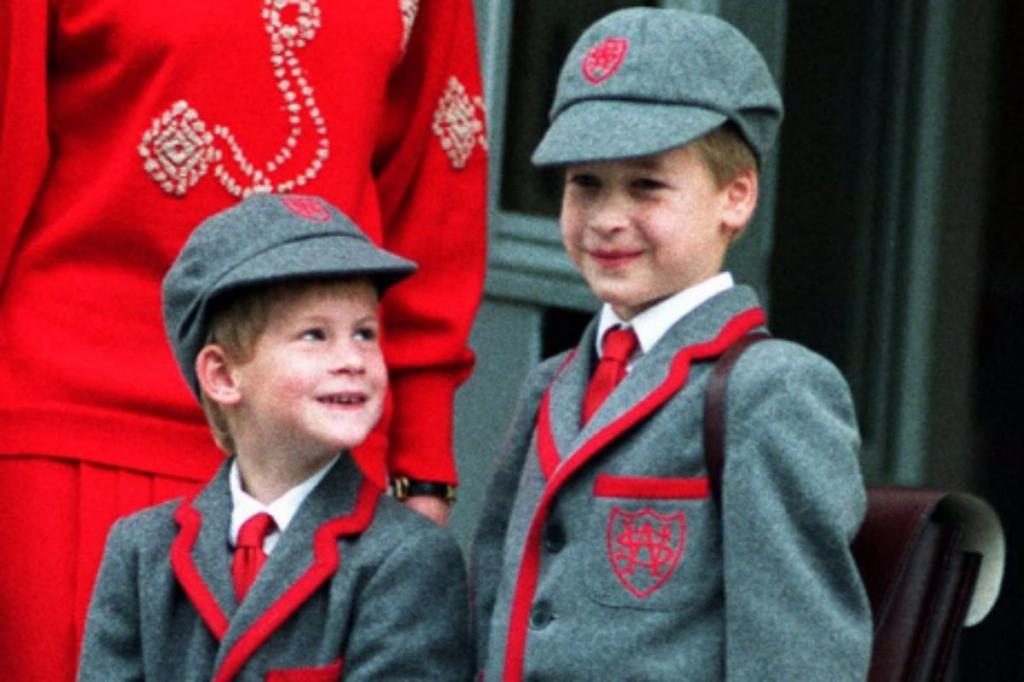 Príncipes Harry e William
