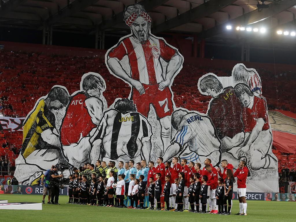 Olympiacos-Sporting (Reuters)