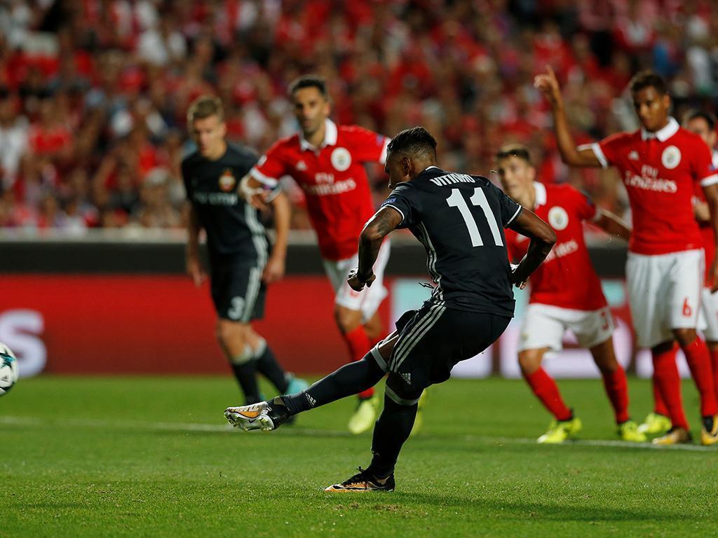 Benfica-CSKA Moscovo (Reuters)