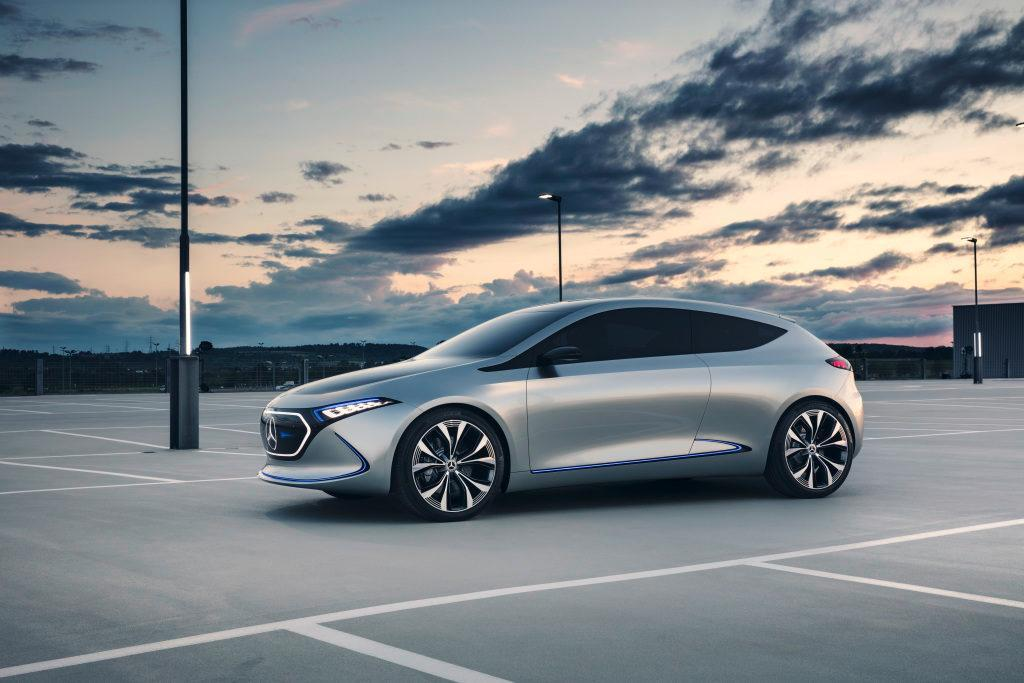 Novo Mercedes EQA: totalmente elétrico