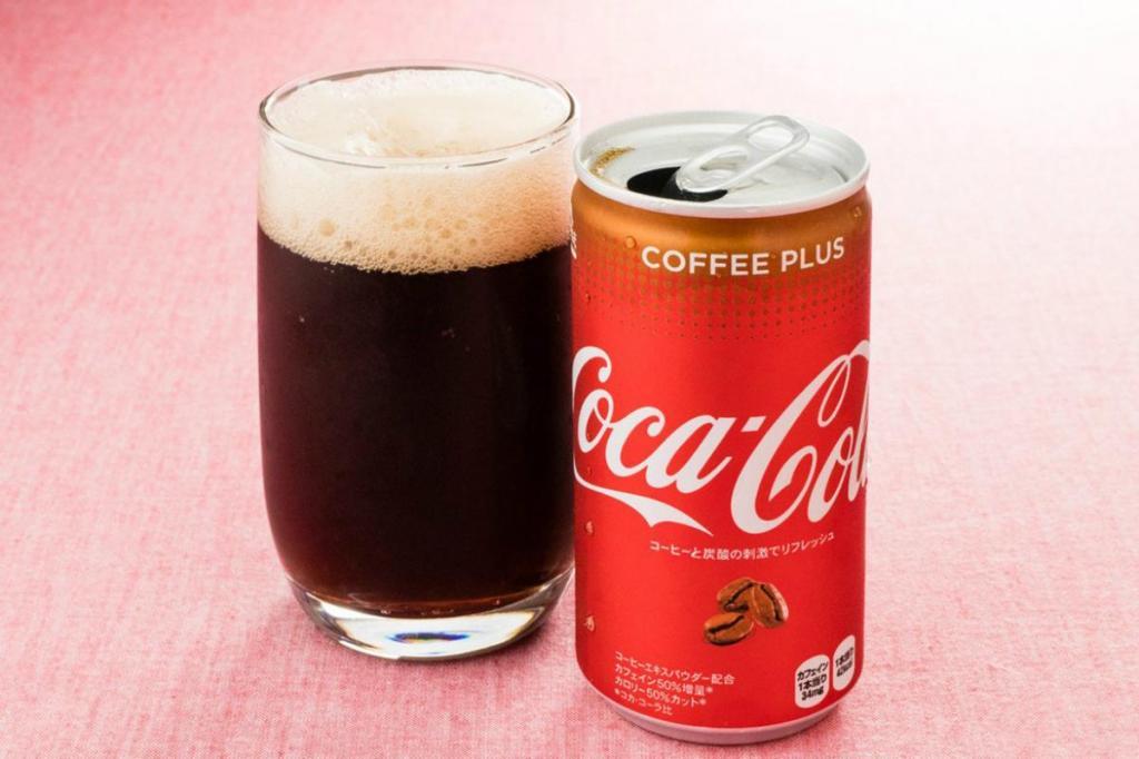 Coca-Cola Coffee Plus tem mais 50% de cafeína e menos 50% de calorias