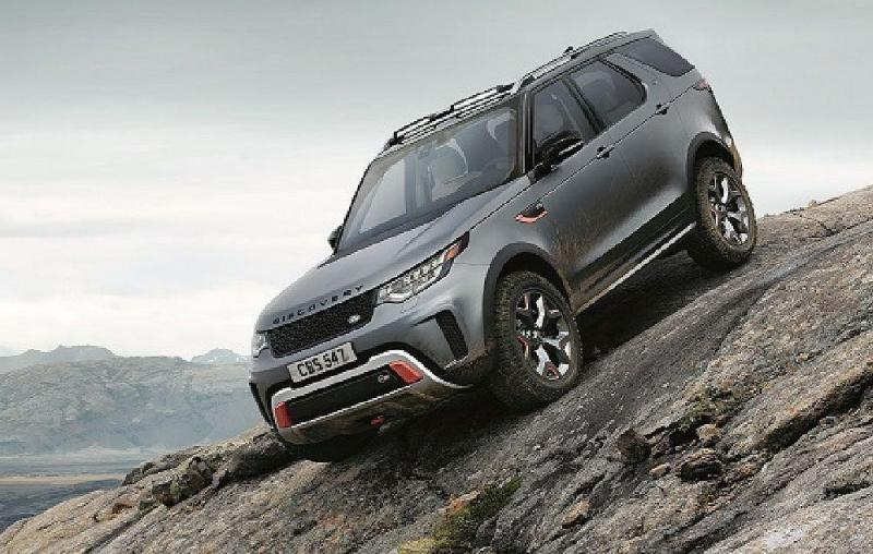 Este é o novo Land Rover Discovery, apresentado no Salão de Frankfurt. Uma poderosa versão do SUV.