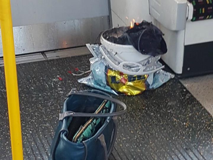 Engenho explosivo no metro de Londres