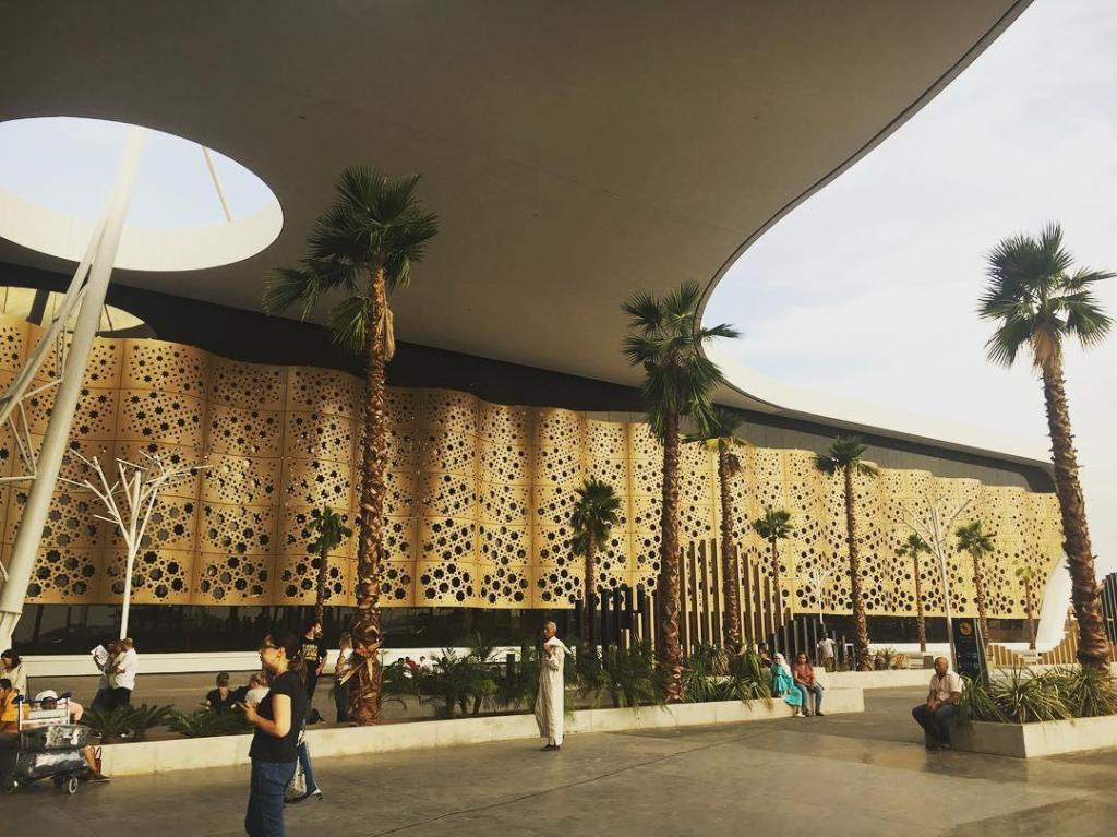 Este é o aeroporto mais bonito do mundo: o de Marraquexe.