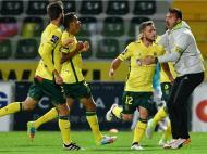 Pedrinho marcou golo do Paços (OCTÁVIO PASSOS/LUSA)