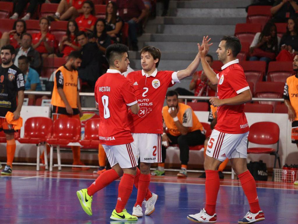 Benfica-Pinheirense [Foto: Benfica]
