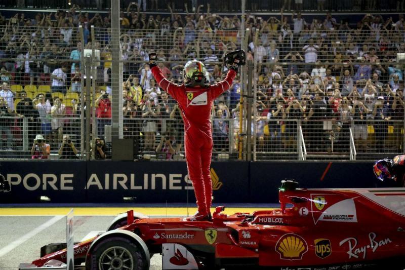 Sebastian Vetel - Ferrari - Singapura