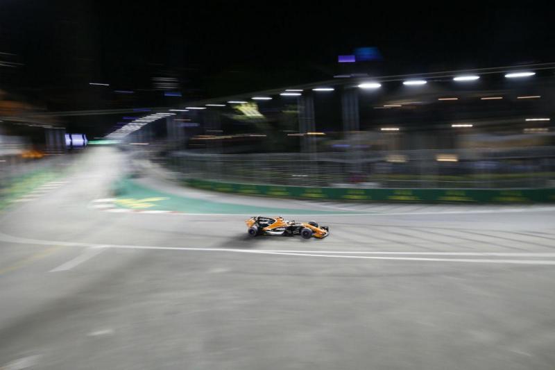 Fernando Alonso - McLaren - Singapura