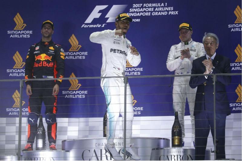 Lewis Hamilton - GP de Singapura