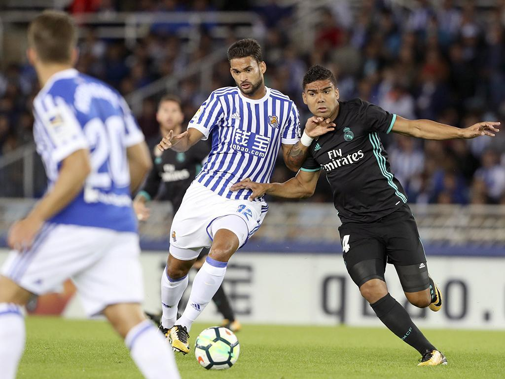 Real Sociedad-Real Madrid (Lusa)