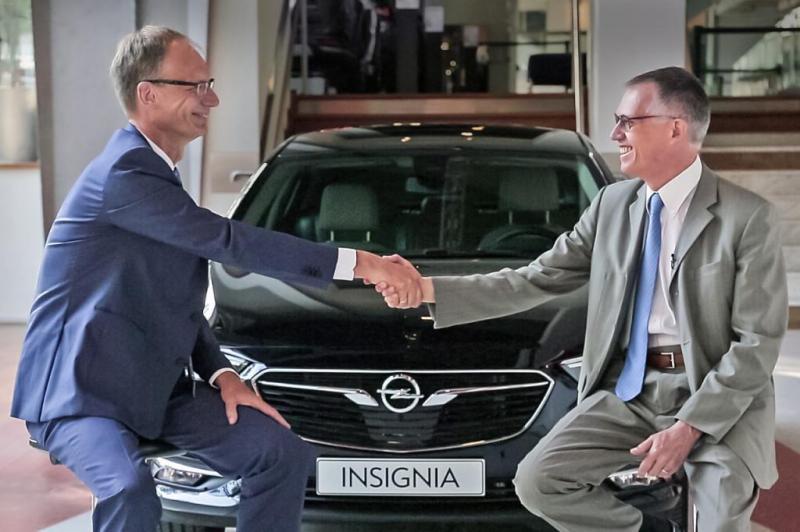 PSA comprou a Opel