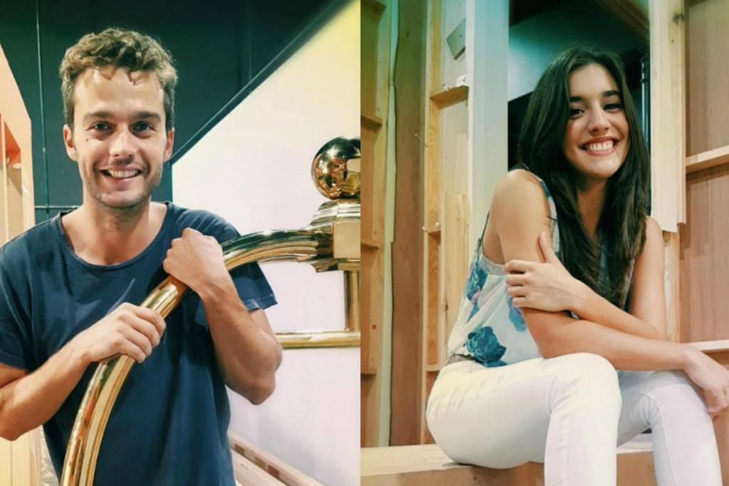 Fernando Pires e Bárbara Branco
