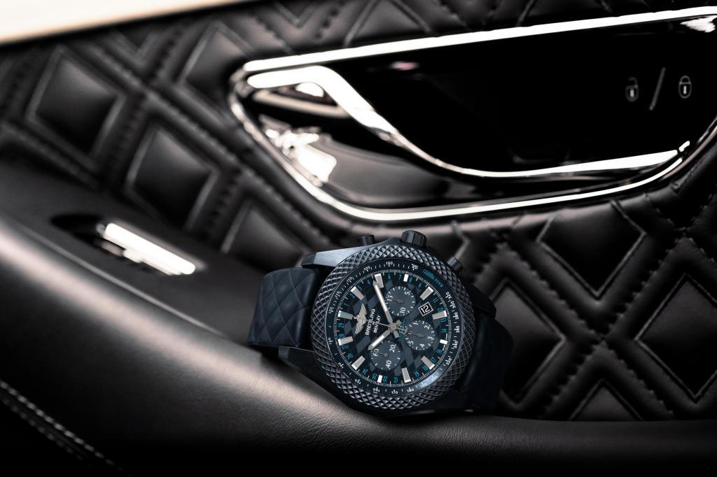Este relógio marca a chegada do Bentley Continental GT