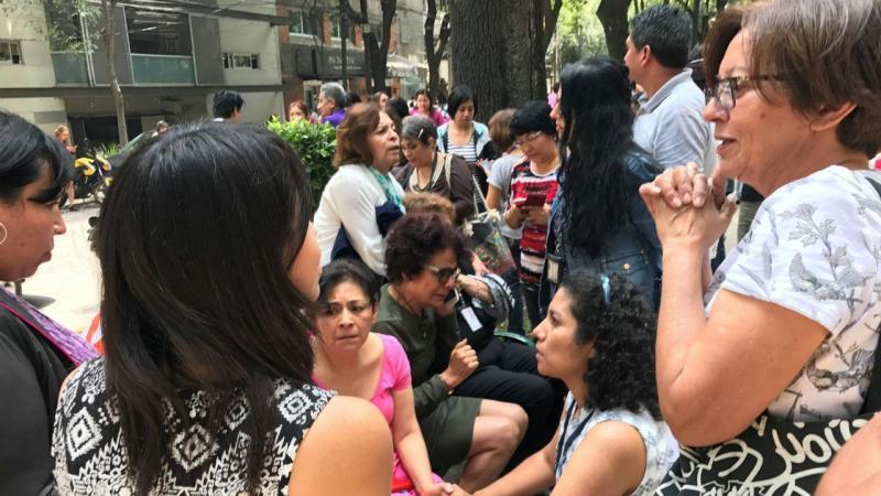 Forte sismo volta a abalar o México