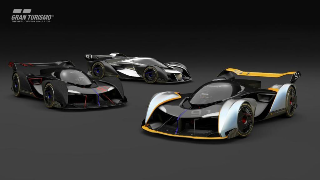A Gran Turismo desafiou várias marcas a desenhar um carro especial de corrida