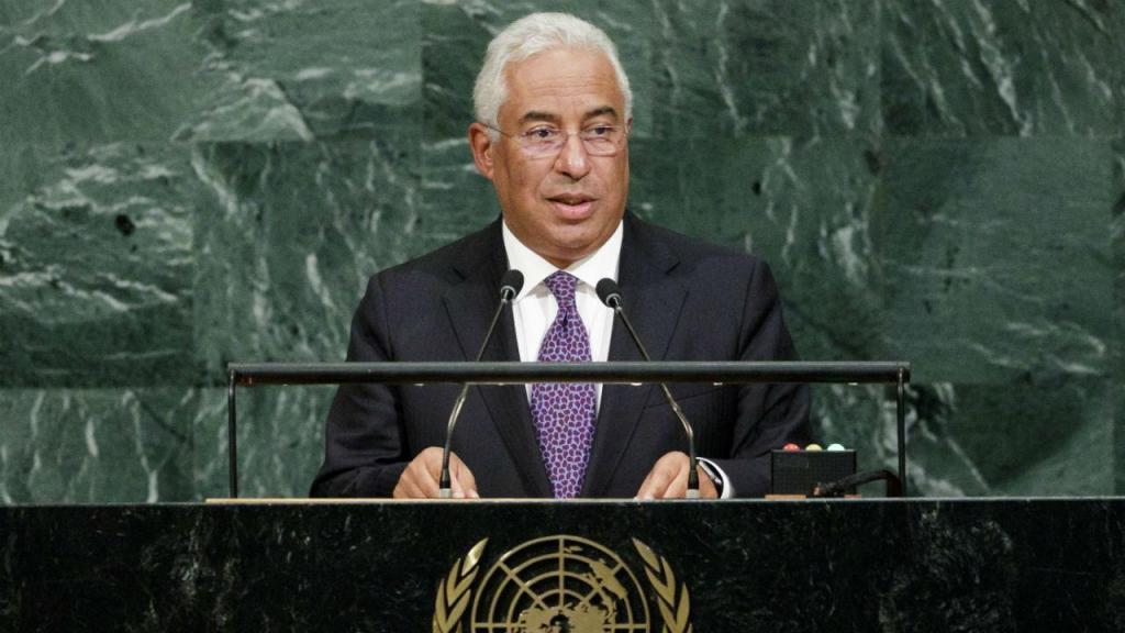 António Costa discursa na ONU