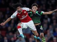 Arsenal-Doncaster (Reuters)