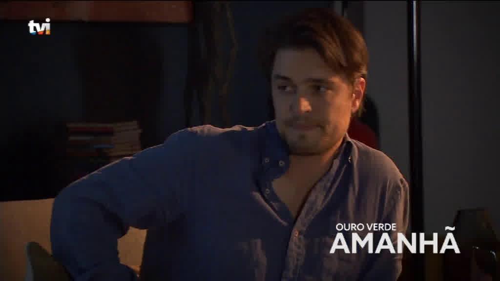 No próximo episódio, Jorge sente-se mal   Ouro Verde   TVI
