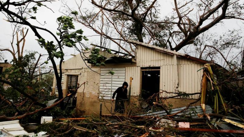 Furacão Maria atinge Porto Rico