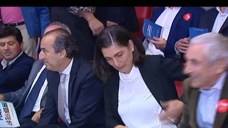 Ana Catarina Mendes foi à Maia apoiar filho de antigo autarca do PSD