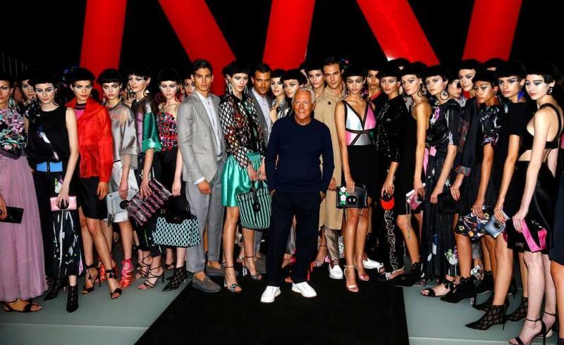 4de0614be69eb 22 26 - Giorgio Armani - Coleção prim verão 2018 - Semana da Moda de Milão  Foto  Reuters