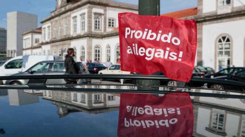 Protesto dos taxistas