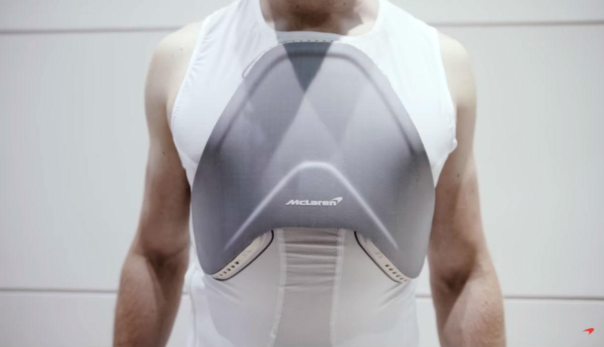 Invencible shield (reprodução YouTube da McLaren)