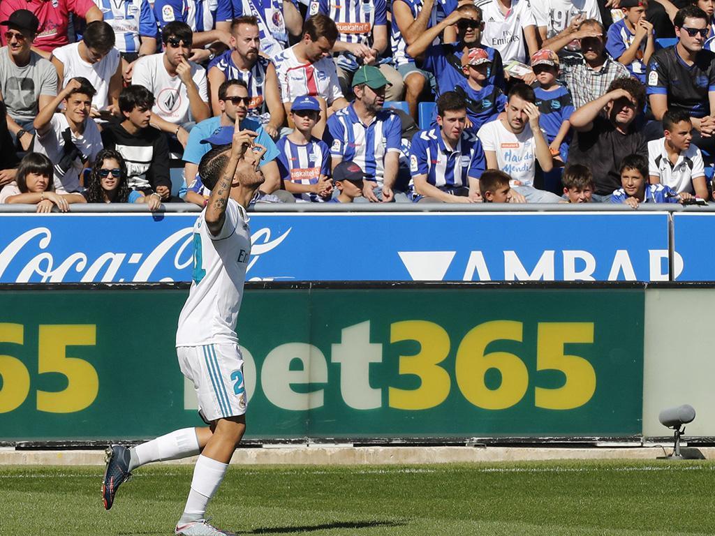 Alavés-Real Madrid (Lusa)