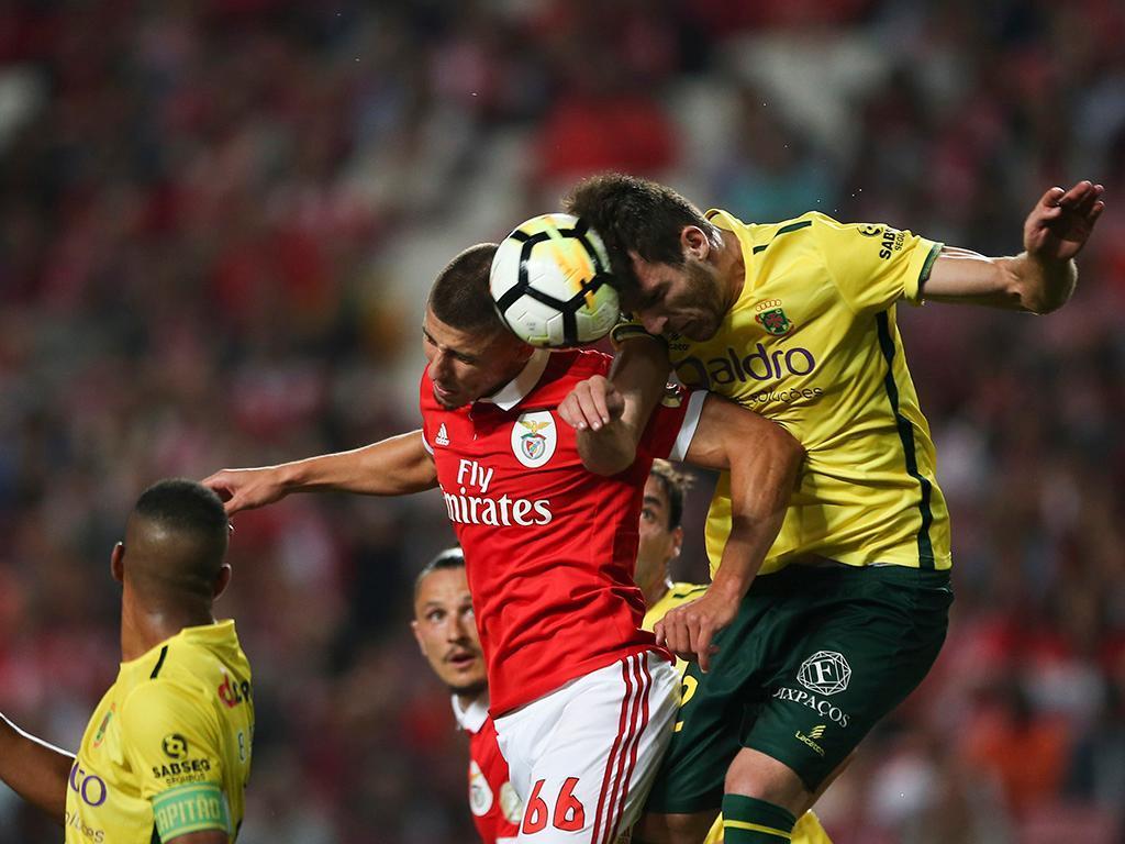 Benfica-Paços Ferreira (Lusa)