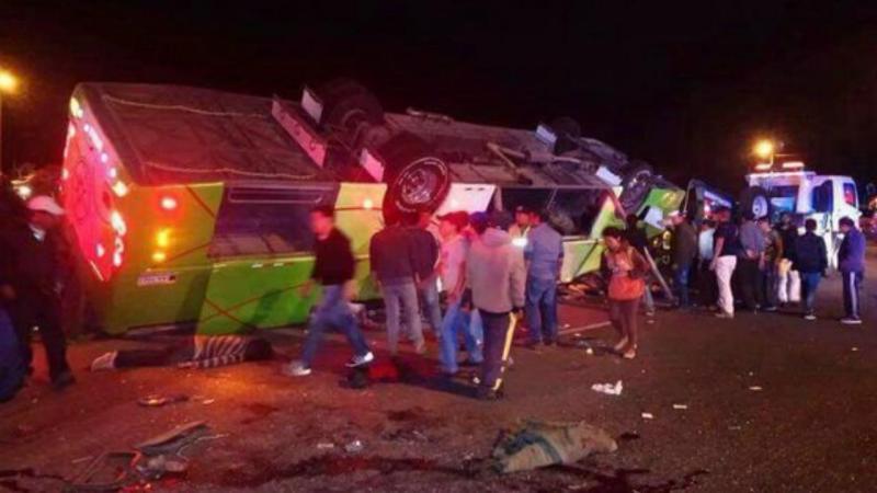 Acidente com autocarro no Equador faz vários mortos