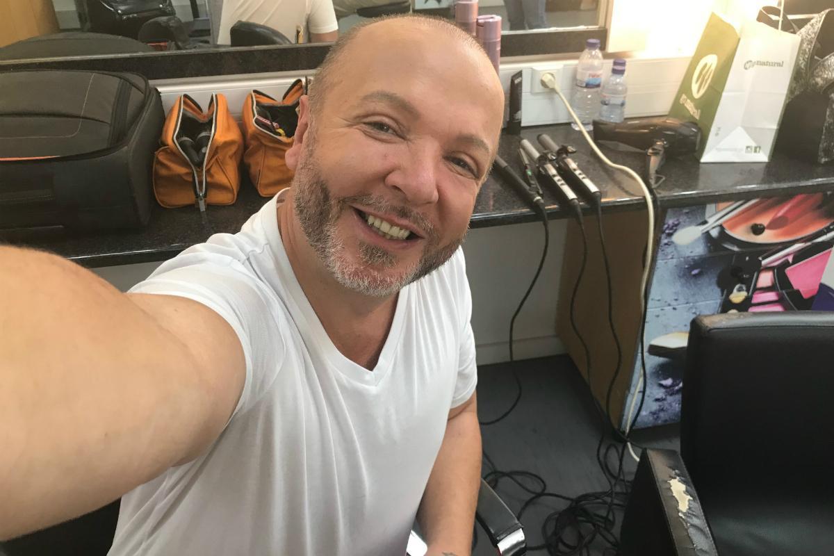 Eduardo Beauté na Selfie