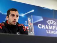 Mkhitaryan Conferência Manchester United ( Reuters )