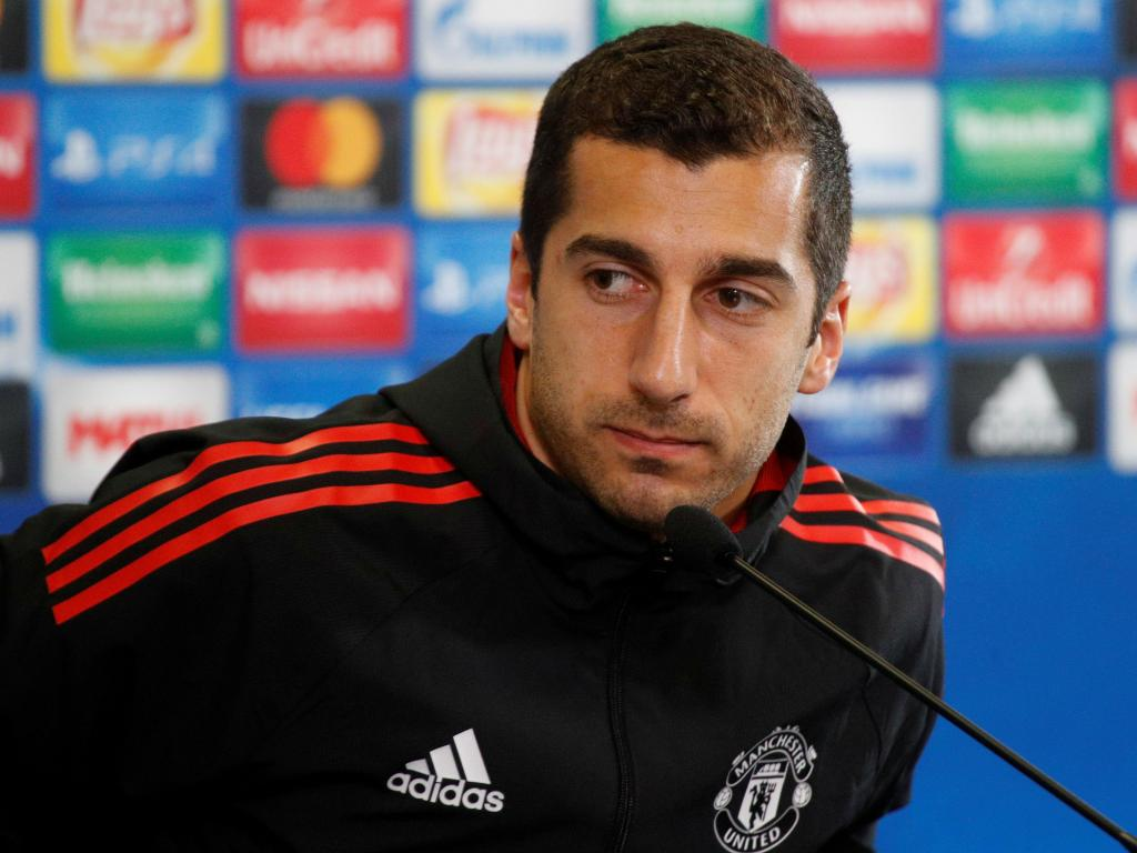Mkhitaryan Conferência Manchester United ( Reuters )