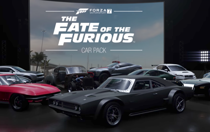 Vai poder conduzir o seu carro favorito de Fast and Furious no Forza Motorsport 7