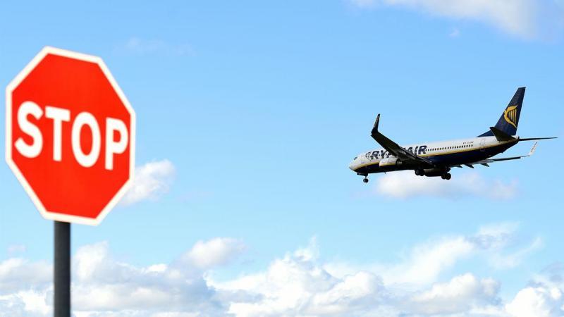 Ryanair cancela mais de 18 mil voos até março