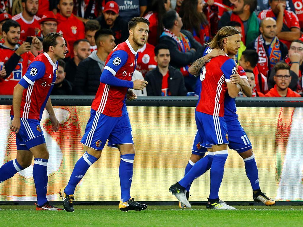 Basileia-Benfica (Reuters)
