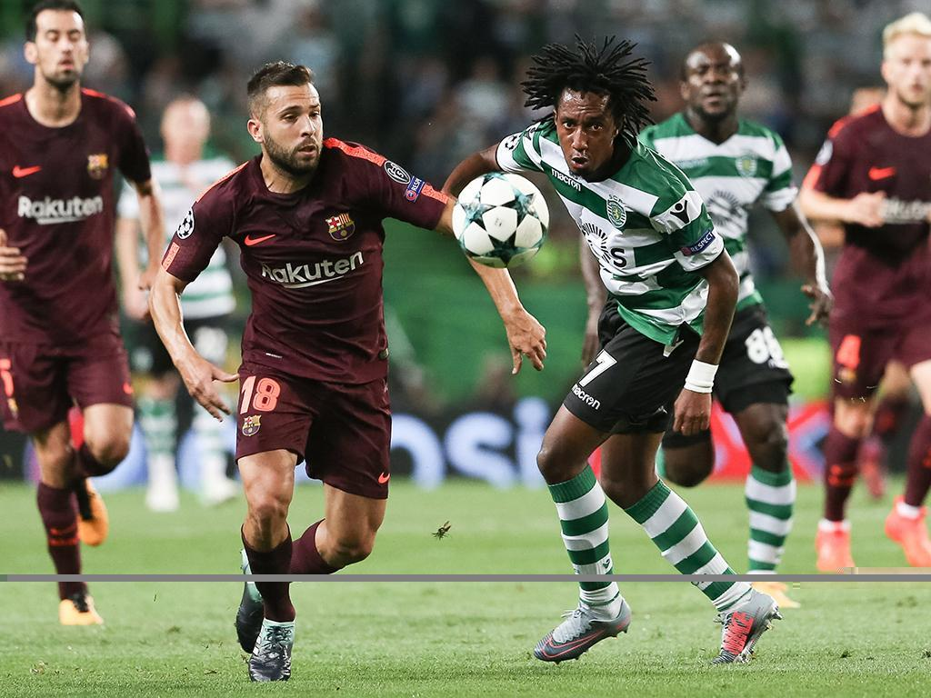 Sporting-Barcelona (Lusa)