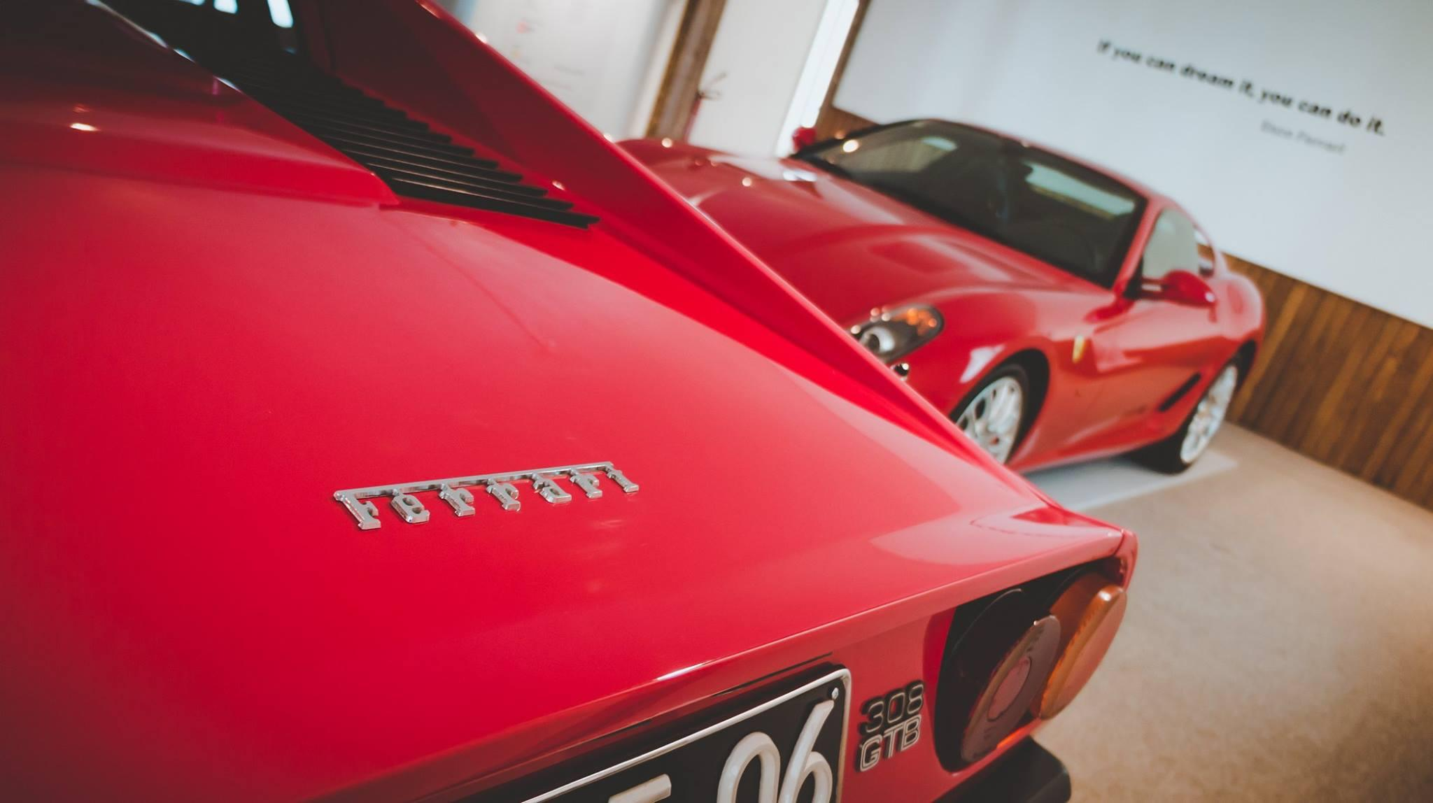 Exposição da Ferrari no Museu do Caramulo