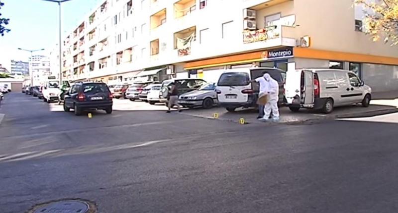 Tentativa de homicídio em Faro (frame)