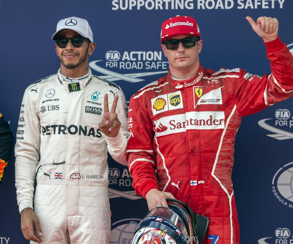 Lewis Hamilton e Kimi Raikkonen - GP Malásia