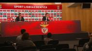 Rui Vitória abandonou conferência antes da ida à Madeira