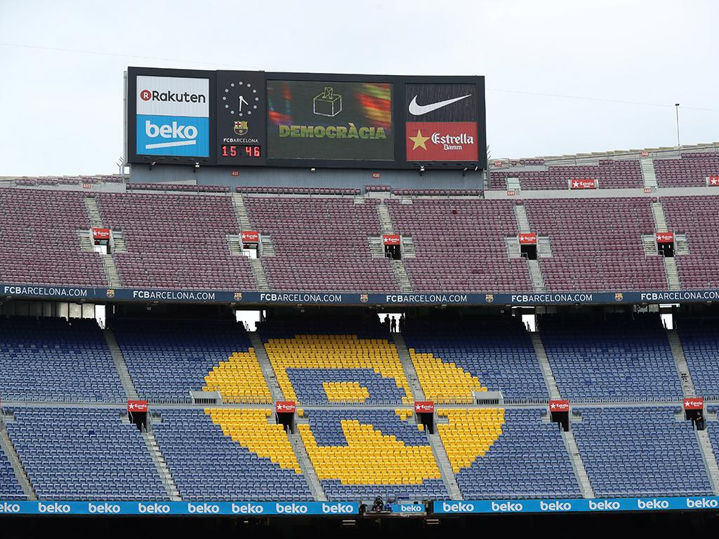 Barcelona-Las Palmas (Reuters)