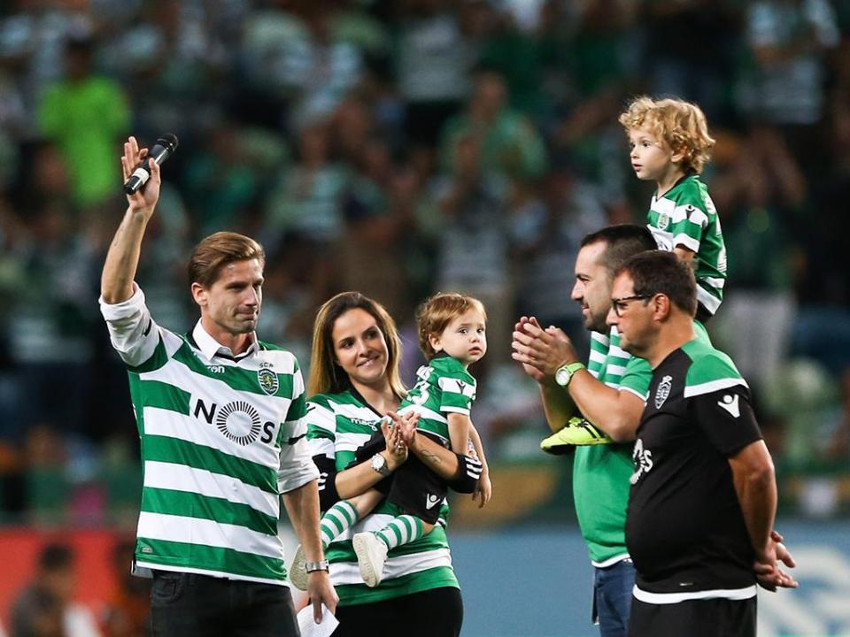 VÍDEO: o adeus emocionado de Adrien ao Sporting