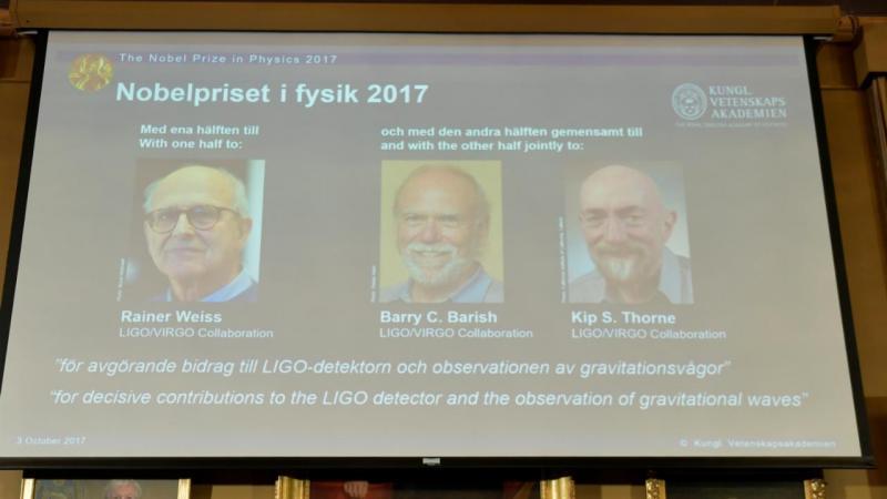 Nobel de Física 2017 premia detecção das ondas gravitacionais